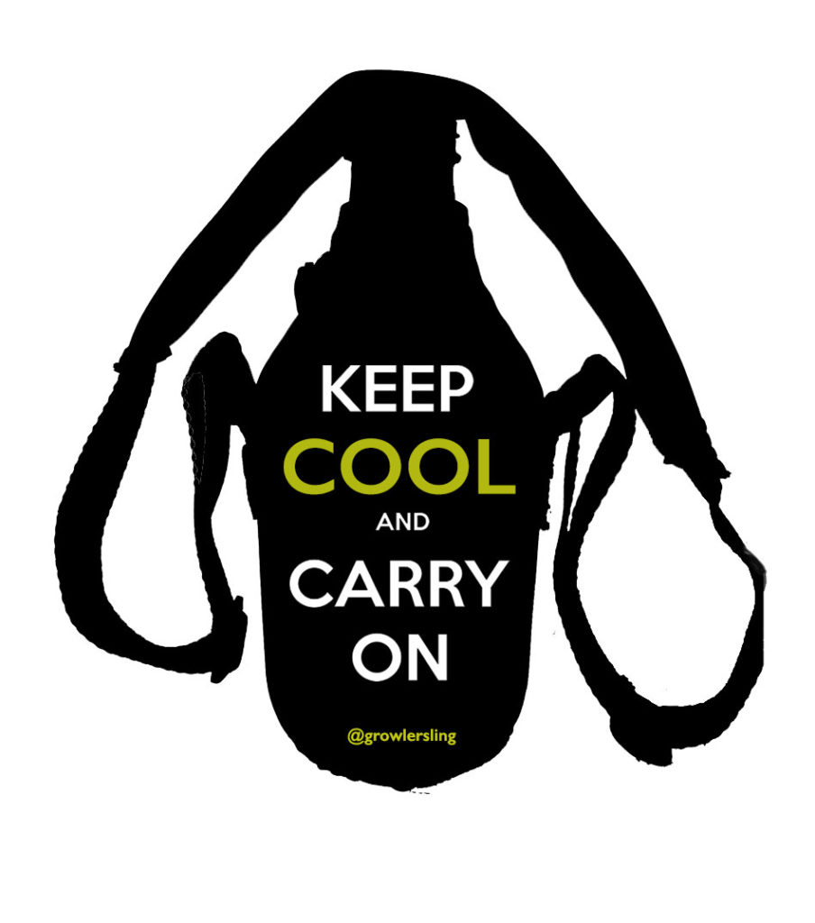 Keep Cool and Carry On Text